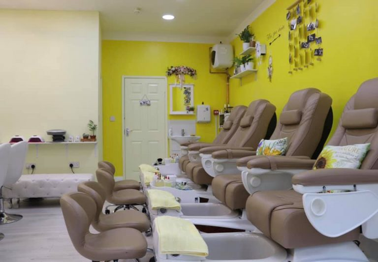ginger and nail salon interior 4